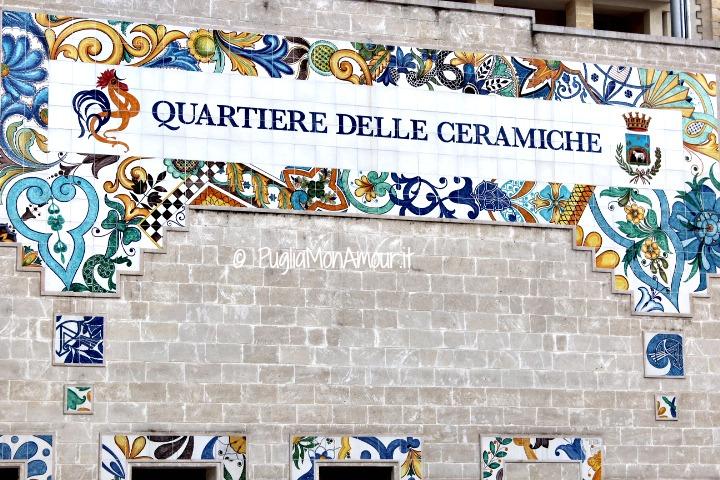 Quartiere delle Ceramiche a Grottaglie